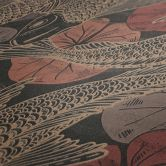 Livingwalls Vliestapete Metropolitan Stories asiatische Tapete mit Kois Mio Tokio braun, orange, rot