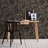 A.S. Création Vliestapete Greenery Tapete mit Blätter Motiv braun, schwarz