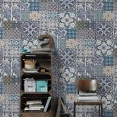 Livingwalls Vliestapete Metropolitan Stories Anke & Daan Amsterdam blau, creme, weiß