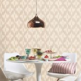 Barbara Home Collection Vliestapete  Beige, Creme