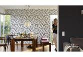 Esprit Home Vliestapete Urban Spring schwarz