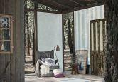 Papier peint intissé Esprit Home Woods bleu, blanc
