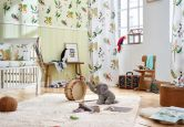 Esprit Home Kids Papiertapete Jungle Party bunt