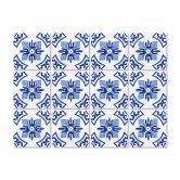 Sticker carrelage Carreaux hollandais fleurs - Set de 12
