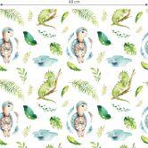 Patterned Wallpaper Kvilis - Animals at Water