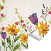 Behangcirkel Blanz - Flower Poetry