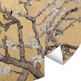Fototapete van Gogh - Mandelblüte creme - Rund
