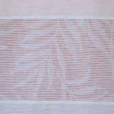 Homing Fertigschal mit verdeckten Schlaufen Fairy Stripe rose -  2,45 x 1,4 m