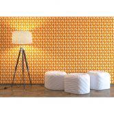 Livingwalls 3D Tapete Harmony in Motion by Mac Stopa orange
