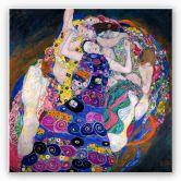 Wandbild Klimt - Die Jungfrau
