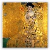 Wandbild Klimt - Bildnis der Adele Bloch-Bauer