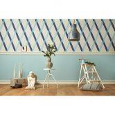 colourcourage® Tapete Artist Edition No. 1 blau by Lars Contzen