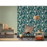 Michalsky Living Vliestapete Dream Again Blumentapete floral blau, grün, rosa