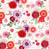 Möbelfolie Blanz - Blütentraum