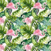 Möbelfolie Kvilis - Tropicana Flamingo 01
