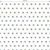 Mustertapete - Aquarell Punkte 02 - blau