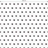 Mustertapete - Aquarell Punkte 02 - schwarz-weiß