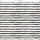 Patterned Wallpaper – Watercolour Lines 01 – black