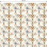 Mustertapete Bohemian Triangles