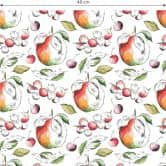 Patterned Wallpaper – Apple Harvest