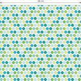 Patroonbehang byGraziela - Klavertjes Vier - groen