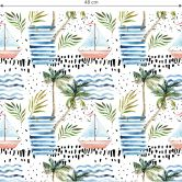 Patterned wallpaper – Watercolour Holiday