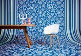 Oilily Home Tapete Oilily Atelier blau