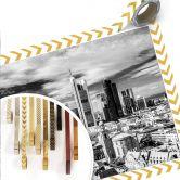 Poster Frankfurter Skyline