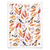 Poster mit Bilderrahmen Blanz - Farbenrausch