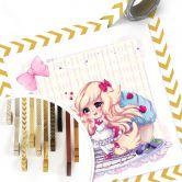Poster La Doll Blanche - Chibi Belle