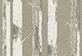 Rasch Vliestapete Amélie silber, metallic, natur, Erdtöne