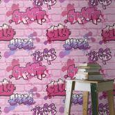 Rasch Kids & Teens III Papiertapete rosa