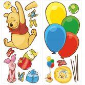Wandsticker Winnie Puhh und Ferkel - Maxi Sticker