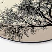 Wandcirkel Kubistika - Dreaming of Winter