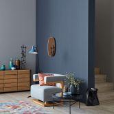 Schöner Wohnen Vliestapete blau
