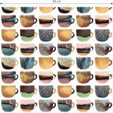 Mustertapete Fredriksson - Kaffeetassen: Pretty Nature