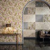 Versace wallpaper Tapete Butterfly Barocco beige, creme, metallic