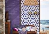 Papier peint intissé Esprit Home Coastline violet