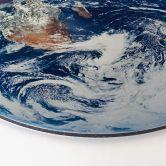 Alu-Dibond - Earth Complete - Round