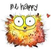 Sticker mural Hagenmeyer - Happy Hamster