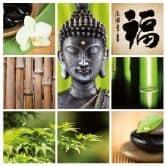 Adesivo murale - benessere asiatico