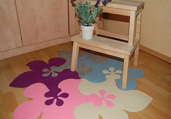 puzzle teppich die kreative und farbenfrohe dekoration. Black Bedroom Furniture Sets. Home Design Ideas