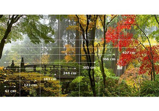 Tapeten Japanischer Garten : Fototapete Japanischer Garten von K&L Wall Art wall-art.de