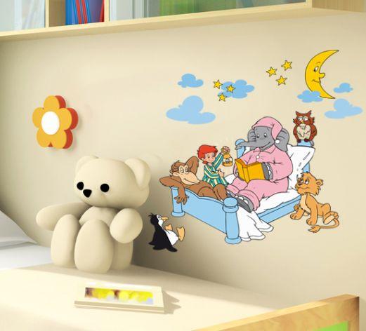 benjamin bl mchen wandtattoo gute nacht set von k l wall art wall. Black Bedroom Furniture Sets. Home Design Ideas