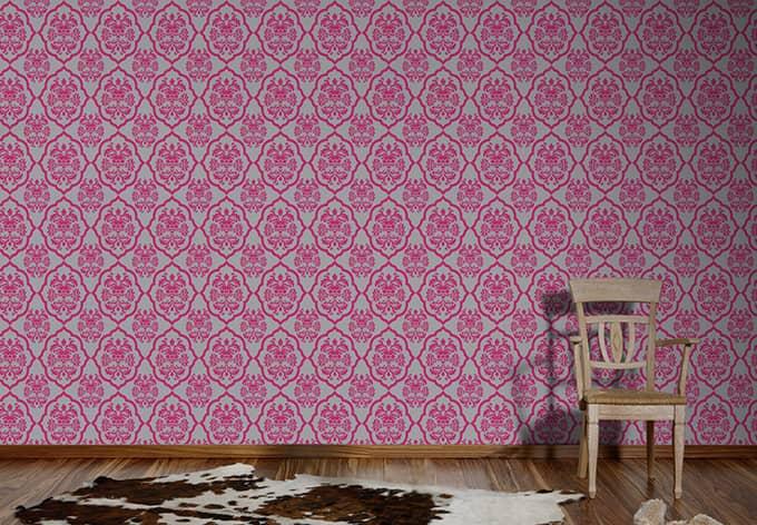 a s cr ation vliestapete naf naf telemagenta achatgrau. Black Bedroom Furniture Sets. Home Design Ideas