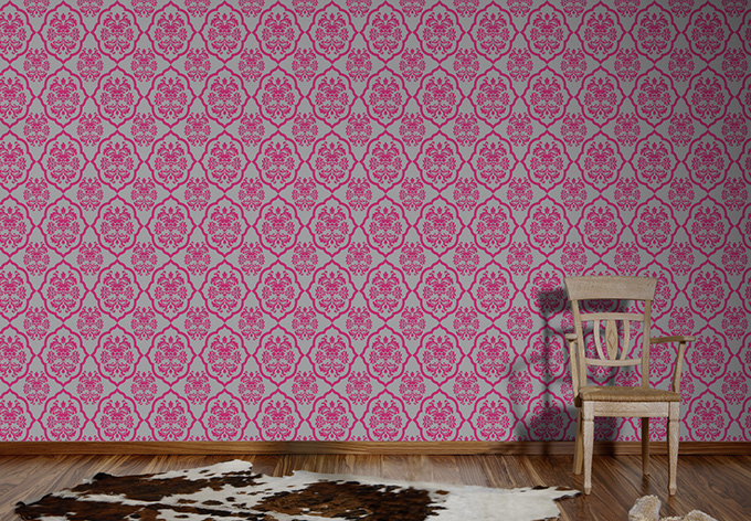 a s cr ation vliestapete naf naf telemagenta achatgrau wall. Black Bedroom Furniture Sets. Home Design Ideas