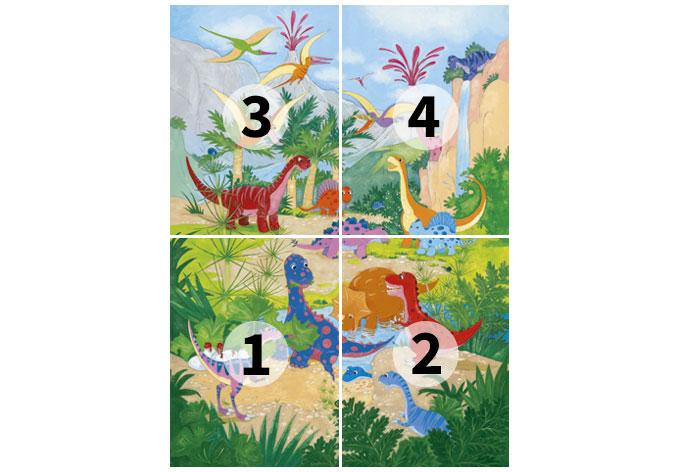Kinderzimmer Tapete Dino : Fototapete Papiertapete Dino Welt – die Kinder-Tapete f?r kleine