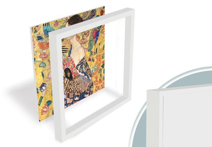 tableau forex klimt dame wall. Black Bedroom Furniture Sets. Home Design Ideas