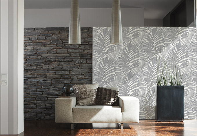 Patroonbehang metropolis van michalsky living vliesbehang wall - Stijlvol behang ontwerpen ...