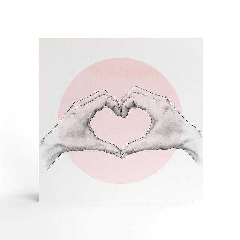 Shabby Chic en Bois Blanc Coeur Avec Divers Proverbes voir sélection